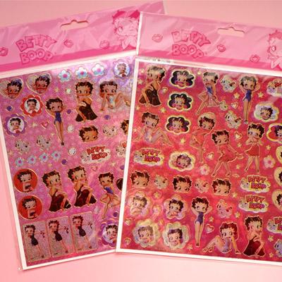 [Betty Boop] 베티붑 홀로그램 스티커 2종