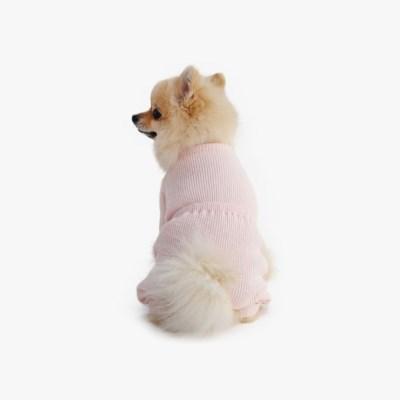 베럴즈 레트로 내복 올인원 (핑크)