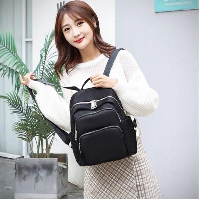 여성 귀여운 미니 데일리 대학생 검정색 백팩 가방