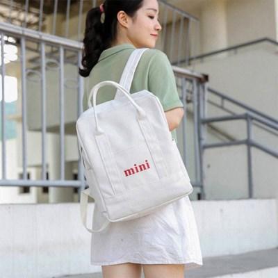여성 캐주얼 미니 투웨이 핸드백 가방 백팩