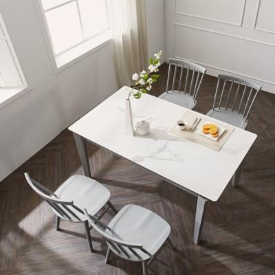 마루이 메르비 세라믹 4인용 원목식탁 의자형(착불)