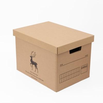 DIY 크라프트 종이박스/ 39x28cm 종이정리함