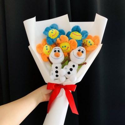 [정품] 겨울왕국 올라프 인형꽃다발