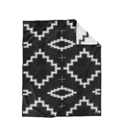 [펜들턴] 기모처리 안된 자카드 블랭킷 로브 담요 키바 스텝스