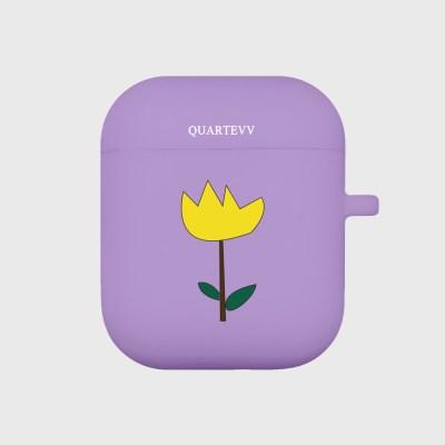 [에어팟젤리]Tulip-Purple