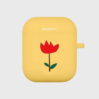 [에어팟젤리]Tulip-Yellow