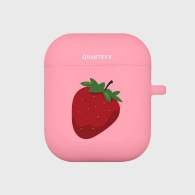[에어팟젤리]Strawberry-Pink