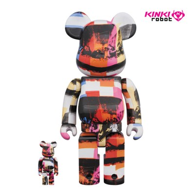 [KINKI ROBOT]400%+100%BEARBRICK ANDY WARHOL THE LAST SUPPER(2001