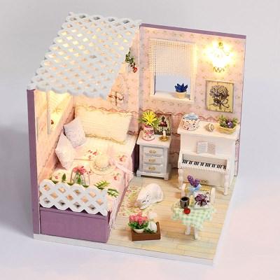 DIY 미니어처하우스 핑크프린세스 룸