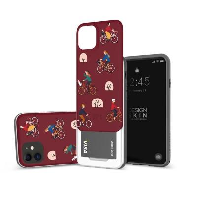 아이폰11 슬라이더 그래픽 라이딩 카드케이스_(1148616)