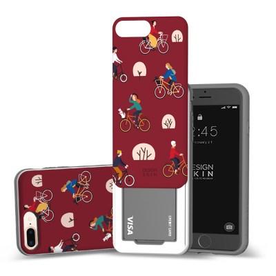 아이폰 SE2 8/7 슬라이더 그래픽 라이딩 카드케이스