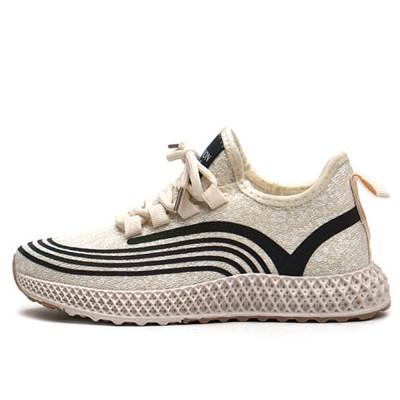 kami et muse Light knit fabric comfort sneakers_KM19w308