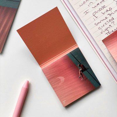 [From sky] 일러스트 스티키 점착메모지_포스트잇 (Pink)