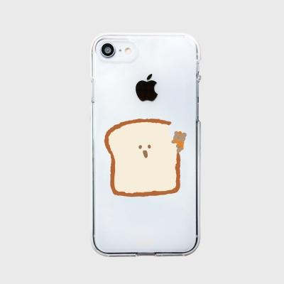 [젤리케이스] 식빵먹는 애기귤곰