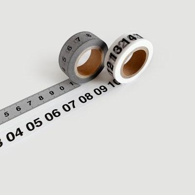 Ruler / Number masking tape