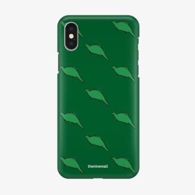 초록공룡 패턴 하드케이스