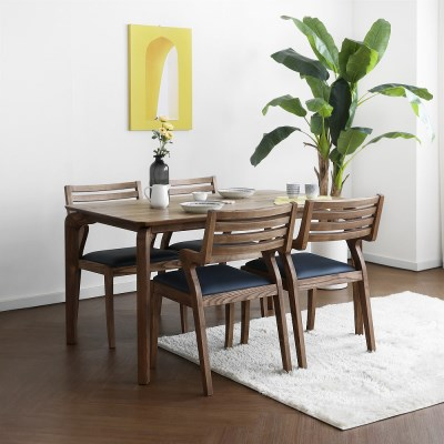 [크랜브라운] A1형 4인용식탁/테이블 세트_(1464127)