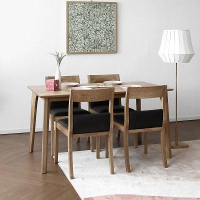 [파비안내츄럴] A1형 4인용식탁/테이블 세트_(1464123)
