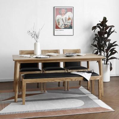 [파비안내츄럴] 6인용식탁/테이블 세트_(1464122)