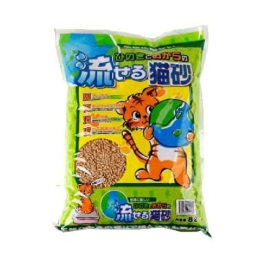 산시아 히노끼 노송 모래 블랙 8L/고양이 화장실 모래,편백나무