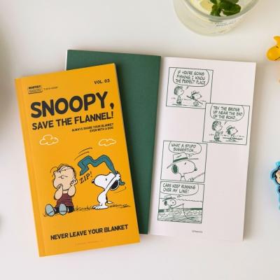 [Peanuts] 월간 스누피 노트 vol.3