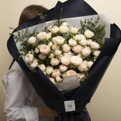 대형꽃다발 맨스필드 장미 꽃다발