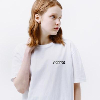 RONRON LOGO T-SHIRT WHITE_(1332016)