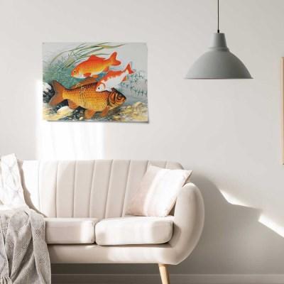 복들어오는 풍수인테리어 패브릭 포스터 행운그림