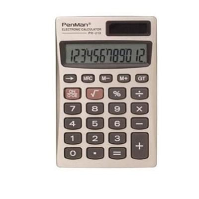 펜맨 계산기 PH-210 쌀집 계산기 회계용 사무용