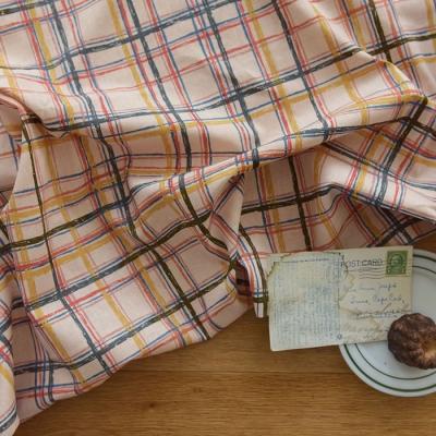 [Fabric] 에든버러 체크 린넨 Edinburgh Check Linen