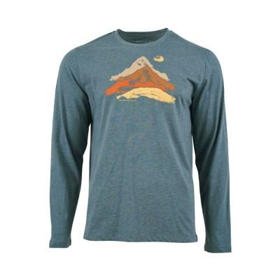 [유나이티드바이블루] 서미트 티셔츠 남성용 오리온블루