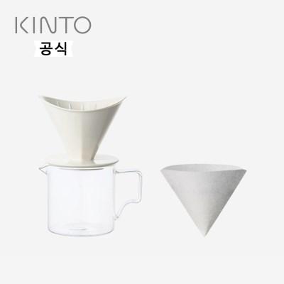 킨토 OCT 드립세트 2컵 - 화이트_(1474582)