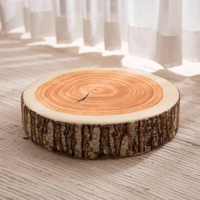 [데코봉봉]통나무 방석 1p