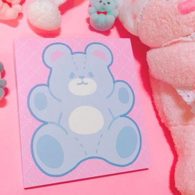 Fluffy Bear 메모패드