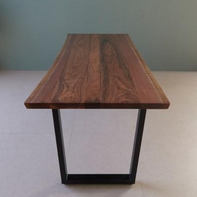[스코나]에스토 북미산 월넛 우드슬랩 테이블 2000_(602769046)