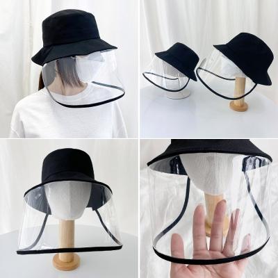 국내제작 코로나모자 성인 아동54사이즈 방역 투명 모자 맘커플