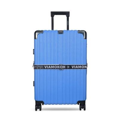 확장형 비토 26인치 중형 캐리어 (블루) (캐리어벨트+커_(1269688)