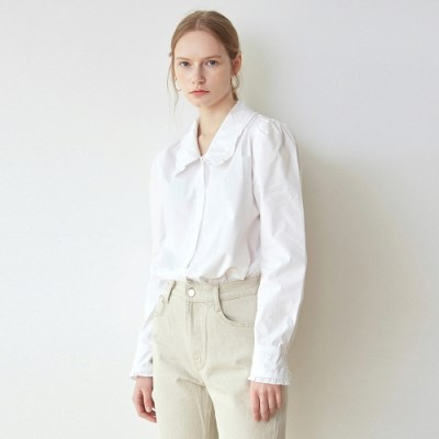 PASTEL FRILL WIDE SH_WHITE