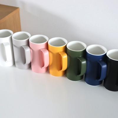 위즈라인 무광 머그컵 (500ml / 7color)