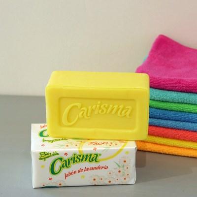 Carisma 카리스마비누 식물성 셔츠카라 소매얼룩제거 바닥청소