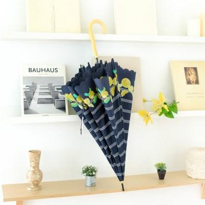 wpc우산 보더 프루트 장우산 77008-00