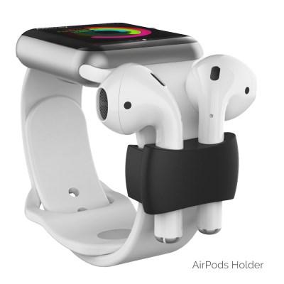 아이노비아 애플 워치 밴드 에어팟 실리콘 홀더