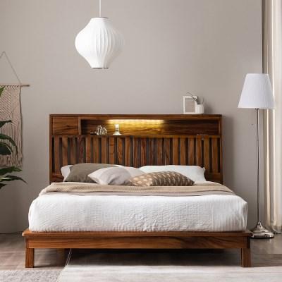 잉글랜더 오르 전체 로즈우드 LED 평상형 침대(삼중직 9_(12666198)