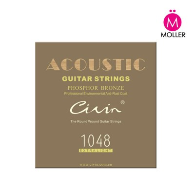 CIVIN 통기타줄 CA90-M  기타악세사리 어쿠스틱기타_(1505559)