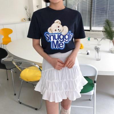 [로코식스] 스너글 프린팅 티셔츠_(1169775)