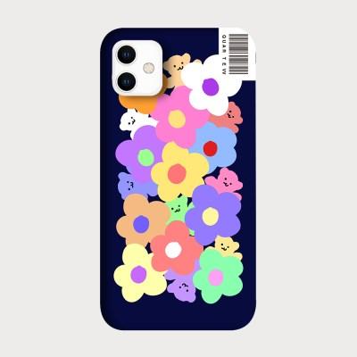 [하드/터프/슬라이드]Pastel Flower_Navy
