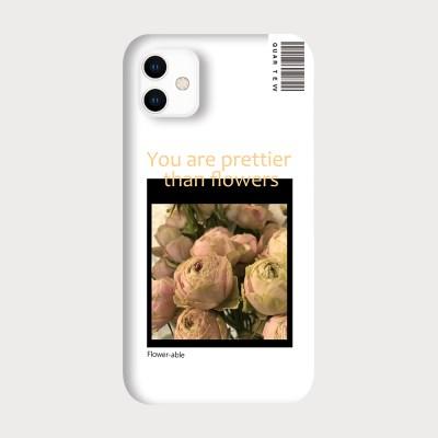 [하드/터프/슬라이드]Flower Able2_White