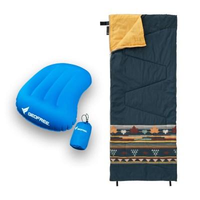 캠핑 침낭 + 베개 SET
