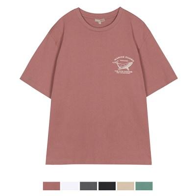 [에코] 모노 드로잉 반팔 티셔츠_SPRPA24C13