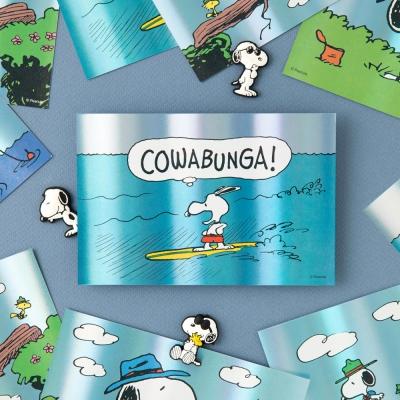 [Peanuts] 썸머 홀로그램 엽서 (3종)